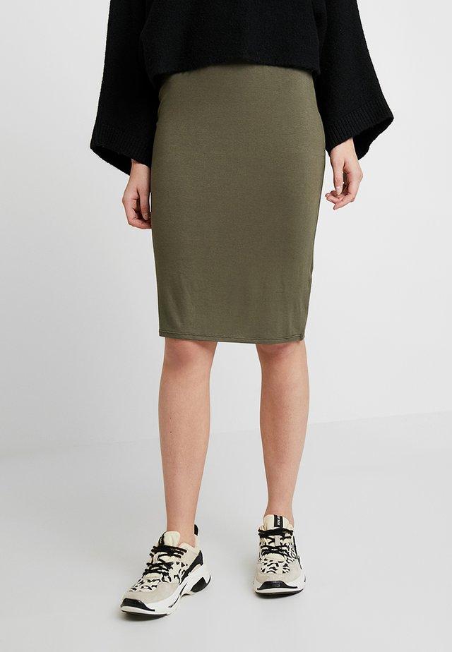 PENCIL SKIRT - Spódnica ołówkowa  - green