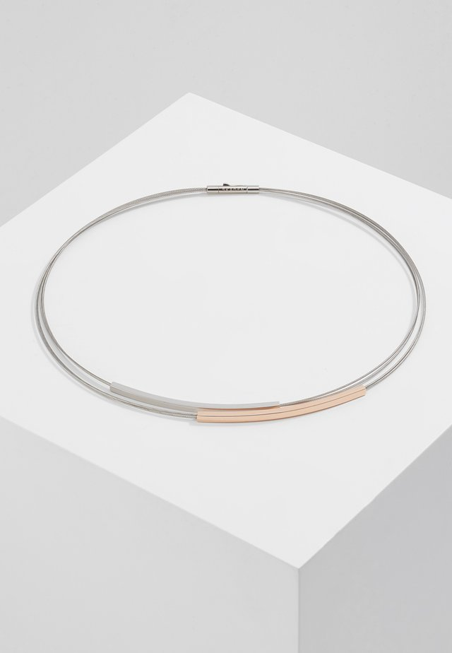 ELIN - Collier - silver-coloured/ rosegold-coloured