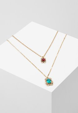 GEM DROP NECKLACE 2 PACK - Ketting - gold-coloured