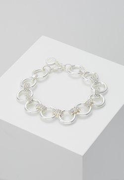 ADARA BRACE - Armband - silver-coloured/clear