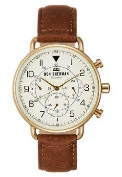 Horloge - braun/weiss