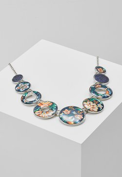 COLLAR KORA - Halskette - silver-coloured/blue