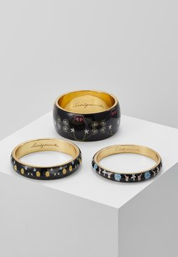 PULS ROMANTIC FLOWERS 3 PACK - Bracciale - black