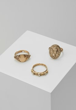 PRETTY WESTERN RING 3 PACK - Ring - gold-coloured
