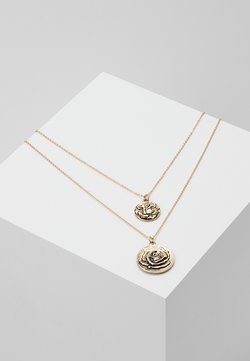 PCJUPI COMBI NECKLACE  - Ketting - gold- coloured
