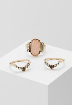 HUG 3 PACK - Ring - pink/gold-coloured