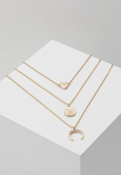 NEW HORN COIN ROW - Ketting - gold-coloured