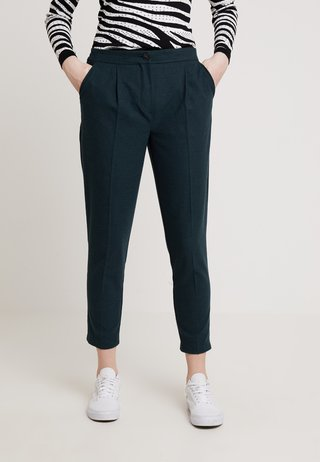 LOOK PULL ON - Trousers - dark green