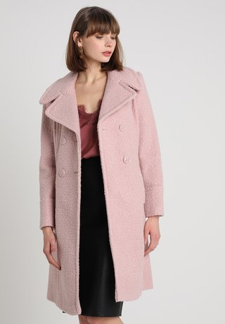 MIDI COAT - Classic coat - blush