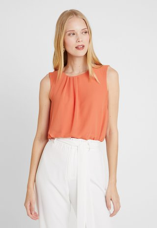 BLOUSE - Bluse - smooth orange