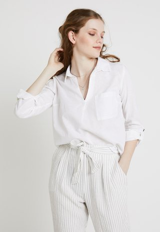 LUCY POCKET - Blouse - white