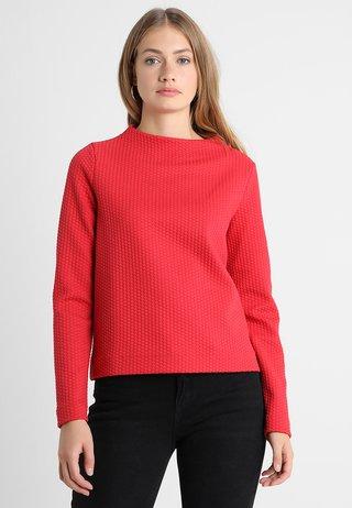 GALVANA - Strickpullover - true red