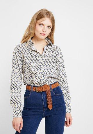 AUTUMN PRINT - Button-down blouse - honey gold
