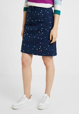 LINDENBERRY CHINO SKIRT - A-line skirt - true navy