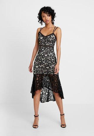RUBBY - Společenské šaty - nude/black