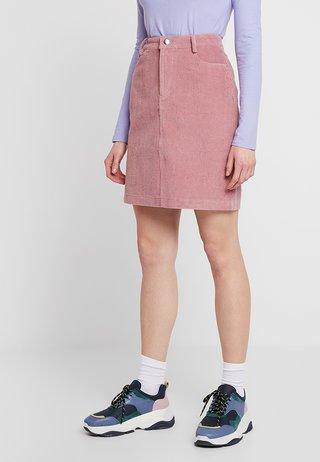 GILLA SKIRT - Mini skirts  - blush