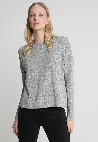 SVENIA - Langarmshirt - iron grey melange