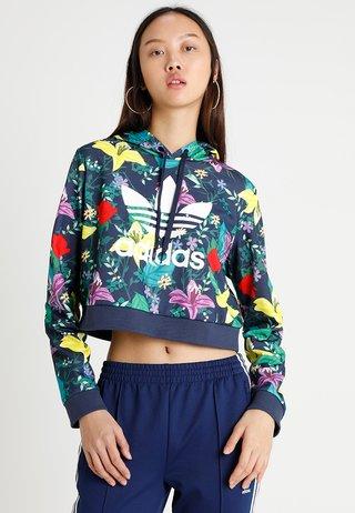 CROPPED HOODIE - Bluza z kapturem - multicolor