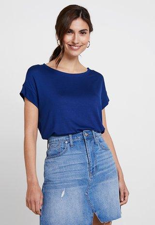 KURZARM - T-shirts basic - indigo