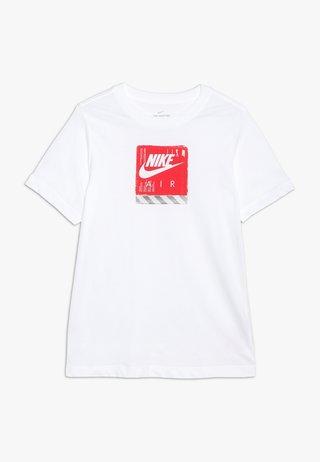 TEE AIR SHOE BOX - T-shirts print - white