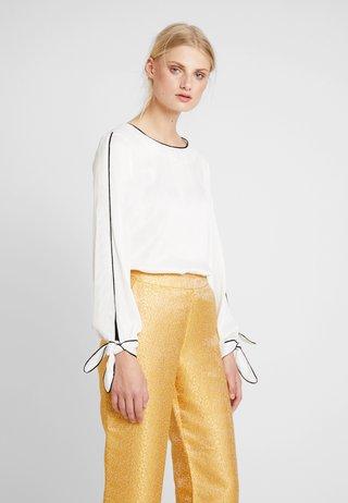 HAZEL BLOUSE - Bluse - chalk