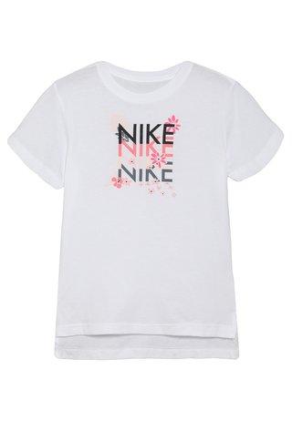 TEE SUPER GIRL WILD - T-shirt med print - white