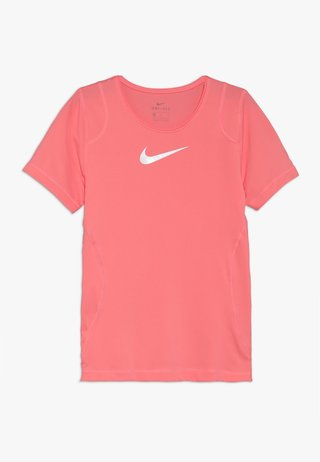 Basic T-shirt - pink gaze/white