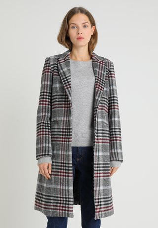 EMILY BLEND CLASSIC COAT - Wollmantel/klassischer Mantel - grey