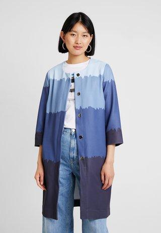 UNGEFÜTTERT - Short coat - light blue/blue