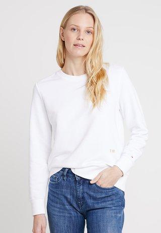 ESSENTIAL - Sweatshirt - white