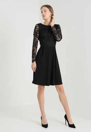 PLEAT - Cocktail dress / Party dress - black