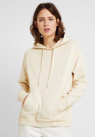 Jersey con capucha - sand