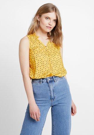 FLUENT - Bluse - yellow