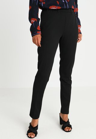RONIE PANTS - Trousers - black deep