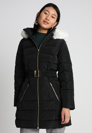LUXE PADDED MOVE ON - Kurzmantel - black/cream