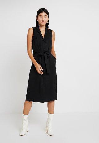 TRENCH DRESS - Day dress - black