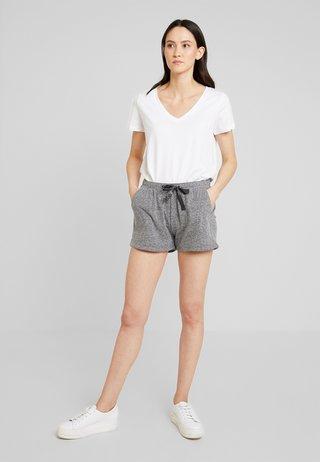 Shorts - grey/black melange