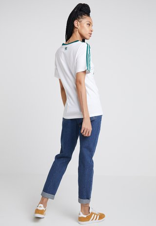 REGULAR TEE - T-shirt con stampa - white