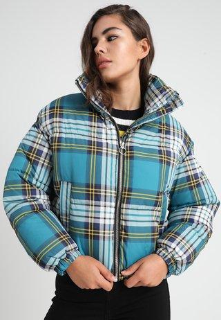 CHECK  - Zimní bunda - blue