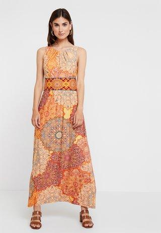TILE DRESS - Maxikleid - orange