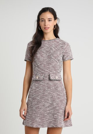 TRIM SHIFT - Day dress - pink