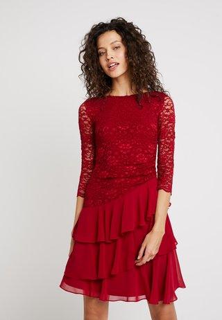 Cocktailkleid/festliches Kleid - weinrot