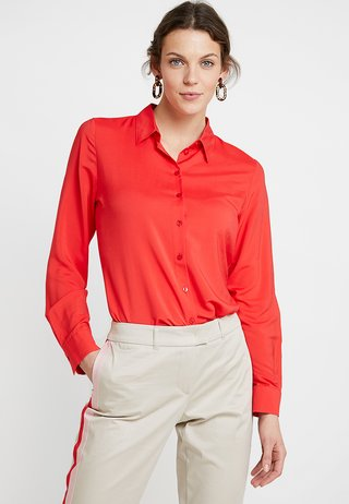 Button-down blouse - tomate