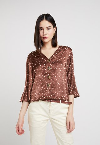 SPOT - Blouse - brown
