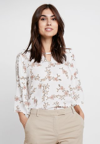 KAVIOLA WING BLOUSE - Bluse - chalk/peach whip