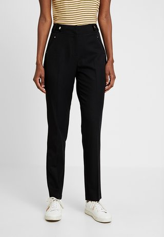 TAPERED - Trousers - black