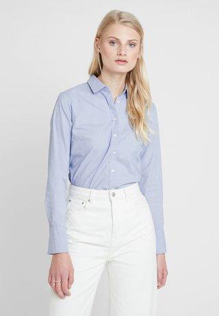 RILEY - Button-down blouse - light blue