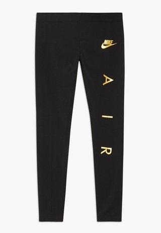FAVORITES AIR - Leggings - black/metallic gold