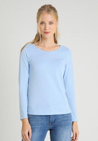 LANGARM - Langarmshirt - mirage blue
