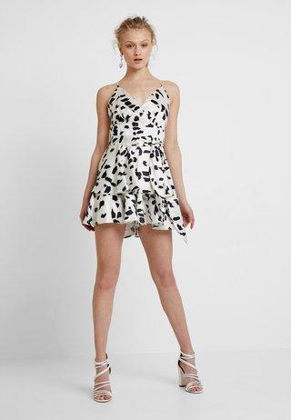 Cocktailkleid/festliches Kleid - white/black
